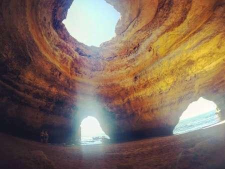Algarve: Stand Up Paddle Einzigartige Erfahrung Am Marinha Strand Und In Der Benagil Höhle