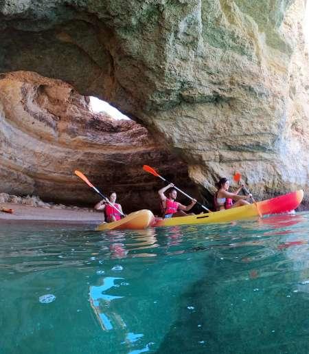 Benagil Kayak Ou Sup – Excursions Aux Grottes De Benagil Et Plage De Marinha – Départ De Benagil