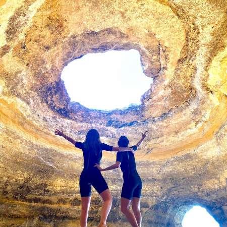 Benagil Cave Tour And Trail Of Sete Vales Suspensos From Tavira, Olhão Or Faro