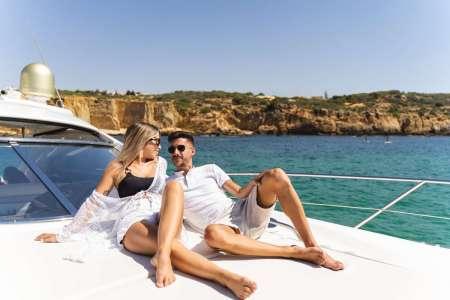 Algarve Coast Private Luxury Boat Charter: Morning Cruise