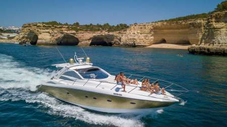 Algarve Coast Private Luxury Boat Charter: Afternoon Cruise