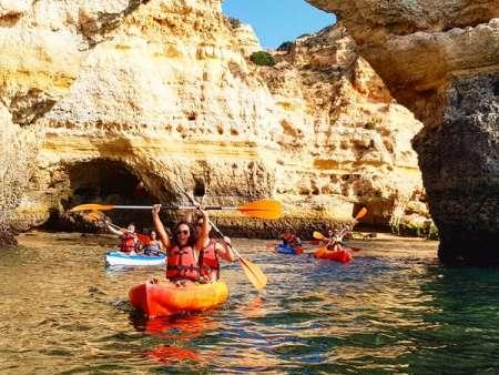 Benagil Caves Kayak Rental – 2 Hours Self Guided Tour